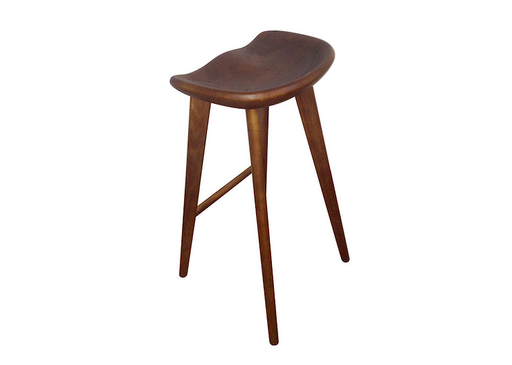 Design Within Reach Tractor Counter Stool 1 255 Wood