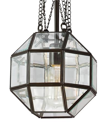 Shades of light Refractive Panel Pendant Light