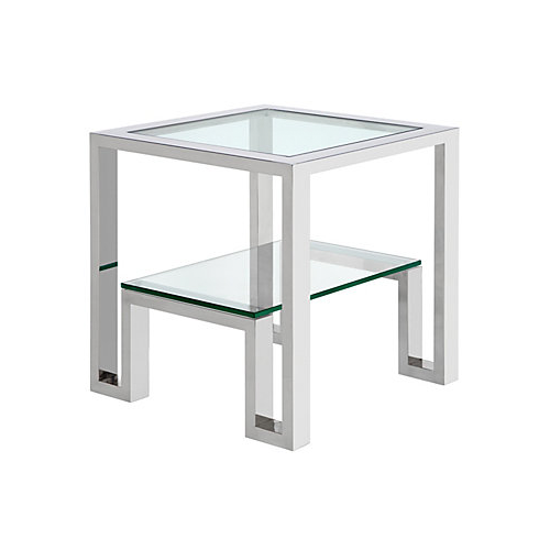 Z Gallerie Duplicity End Table Copycatchic