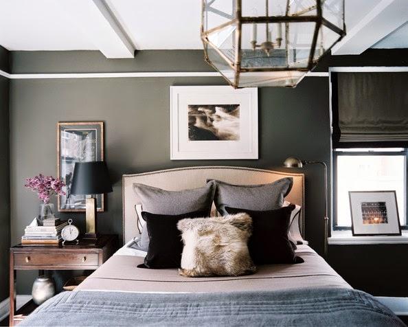 Copy Cat Chic Room Redo Masculine Gray Bedroom Copycatchic