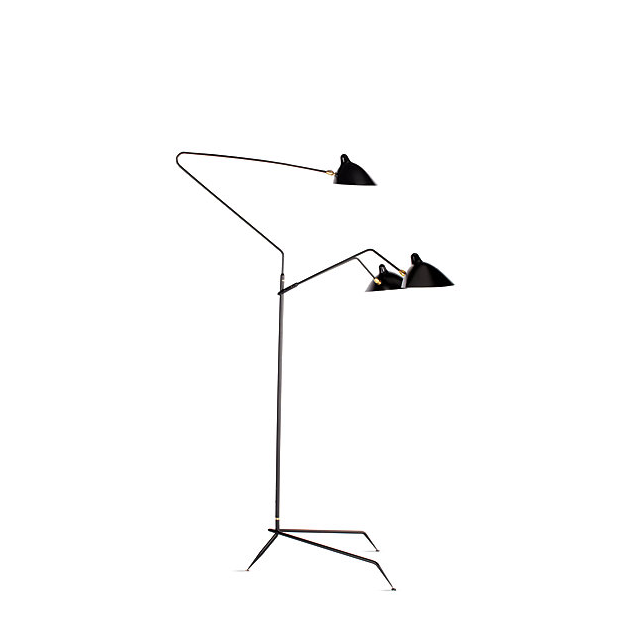 Design Within Reach Serge Mouille Three-Arm Floor Lamp