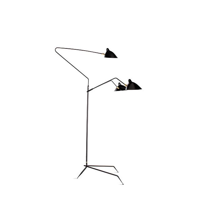 Design Within Reach Serge Mouille Three-Arm Floor Lamp