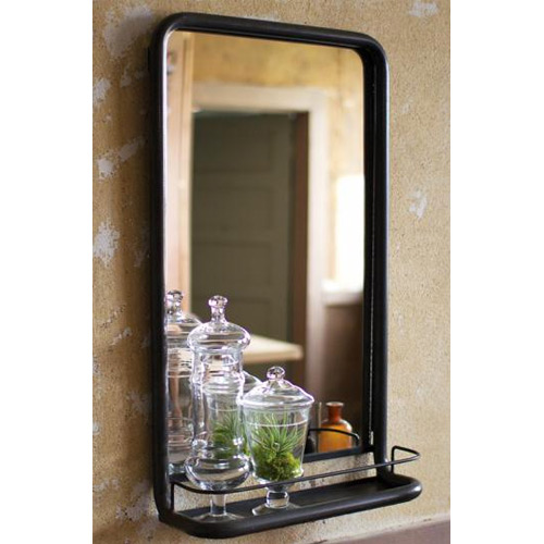 Home Decorators Collection Wesley Bathroom Mirror with Shelf