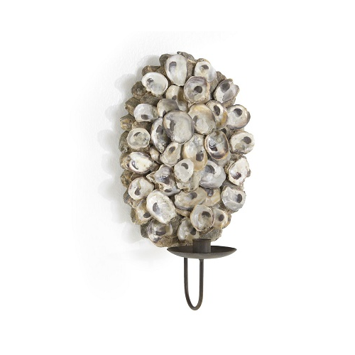 Wisteria Oyster Shell Sconce
