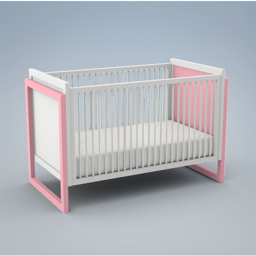 Ducduc Campaign II Painted Crib