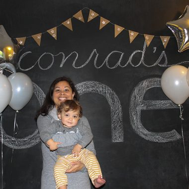 Conrad's 1st Birthday