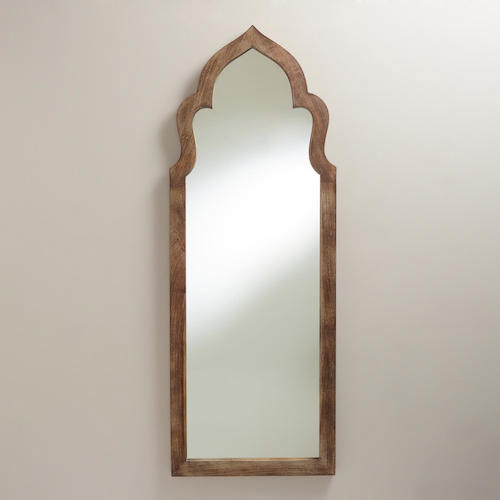 Cost Plus World Market Gray Sahar Arch Mirror