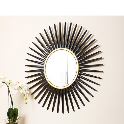 Overstock Abbyson Living Alexia Round Wall Mirror