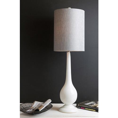 Overstock Magical Milk Glass Lamp