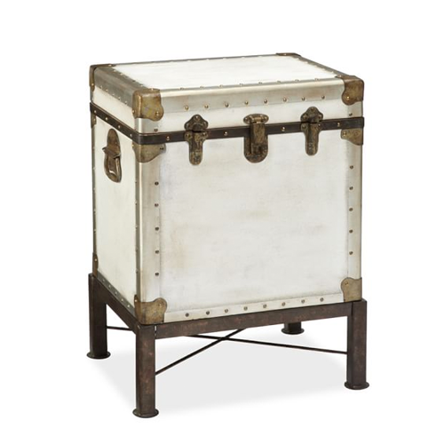 Pottery Barn Ludlow Trunk Side Table Copycatchic - Pottery barn white side table