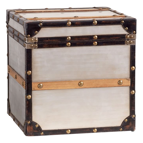 Pottery Barn Teen Collector's Metal Trunk