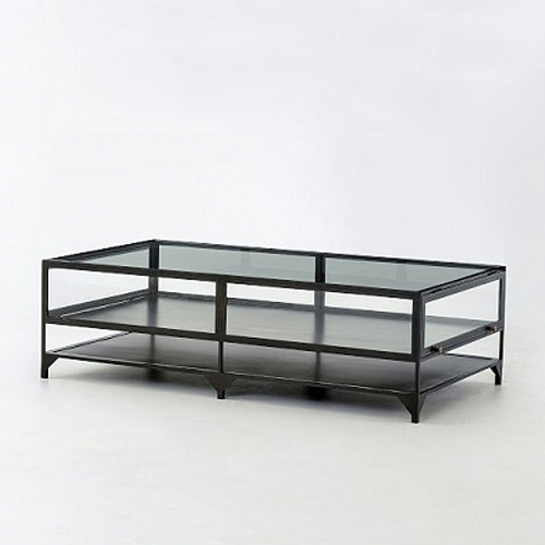 West Elm Shadow Box Coffee Table