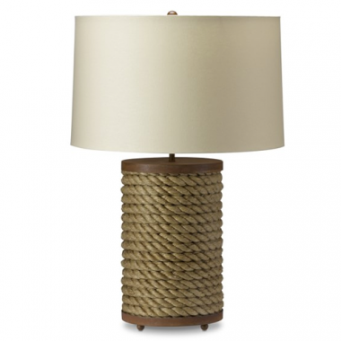 Williams Sonoma Rope Table Lamp