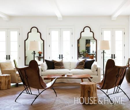 Copy cat chic room redo neutral serene living room for Serene living room ideas