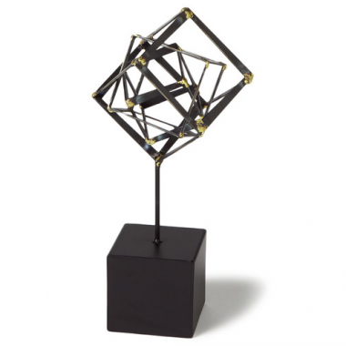 DwellStudio Tilted Cube Structure