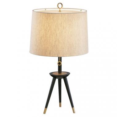 JONATHAN ADLER COLLECTION TRIPOD TABLE LAMP DESIGN BY ROBERT ABBEY