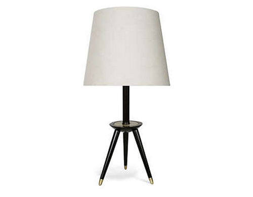 Simple Art Van Metal Tripod Table Lamp