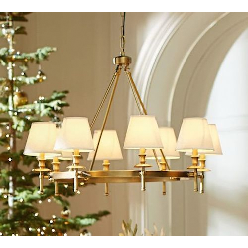 Pottery Barn Collins Chandelier