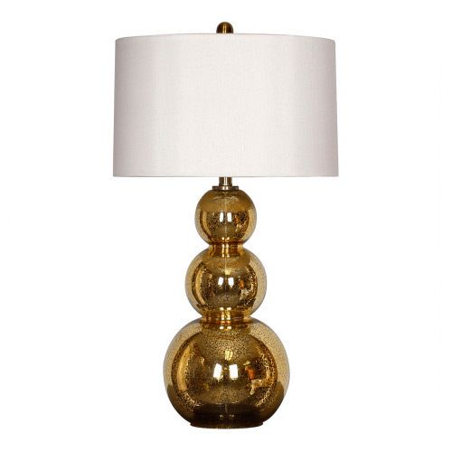 Pure Home Surya Orion Gold Table Lamp
