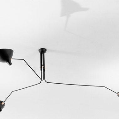 Serge Mouille Ceiling Lamp MCL-R3 Part 2