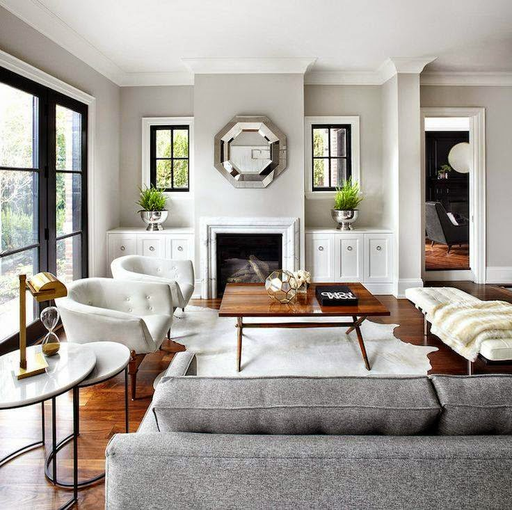 Delightful Itu0027s No Wonder This Chic Living Room From The Design Co, Was Your Favorite  This Week On The CCC Facebook Page. Its Soothing, Neutral Palette Of Wintry  Gray, ... Nice Ideas