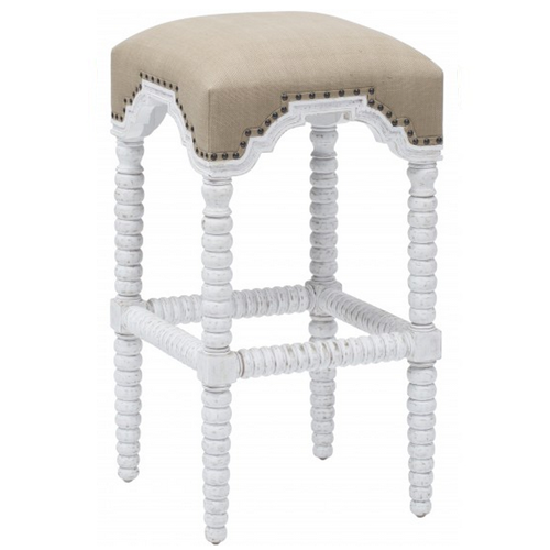 High Fashion Home Abacus Barstool
