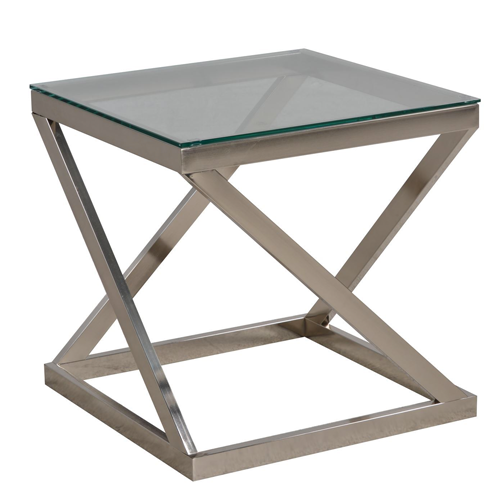 Living Spaces Coylin Square End Table