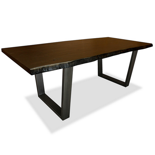 Overstock Made to Order Soho Live Edge Dining Table