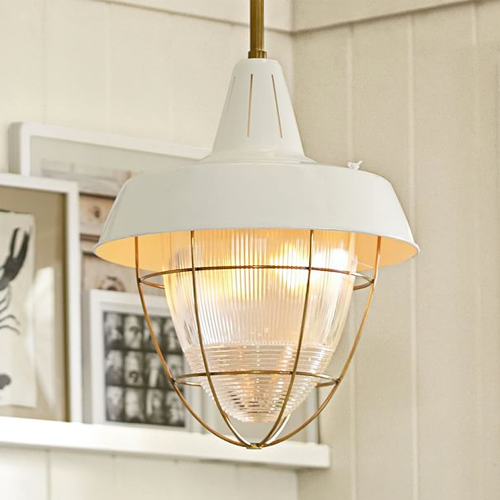 Kitchen Pendant Lighting Pottery Barn: Circa Lighting Henry Industrial Hanging Light