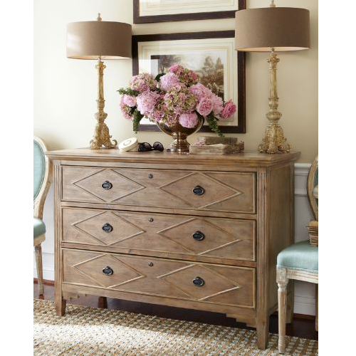 Soft Surroundings Nora Three Drawer Console