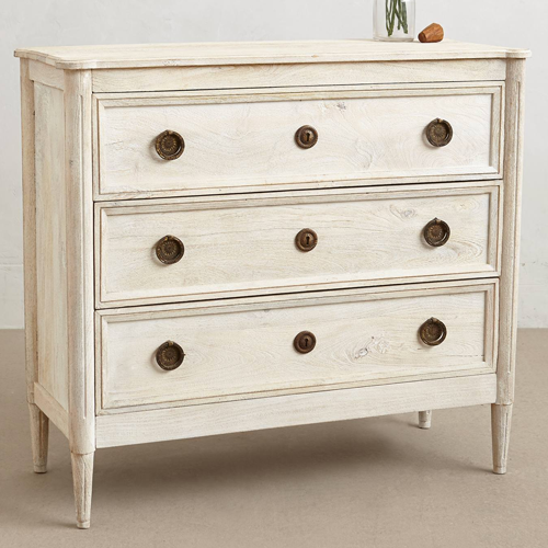 Anthropologie Washed Wood Dresser