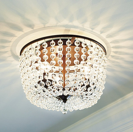 ballard designs margeaux ceiling mount chandelier copy cat chic