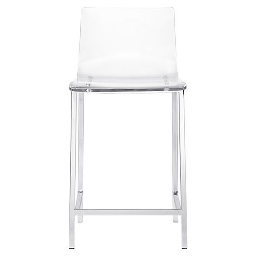 Beau CB2 Vapor Counter Stool