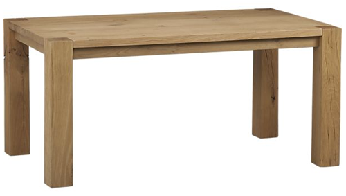 Crate And Barrel Big Sur Natural Dining Table