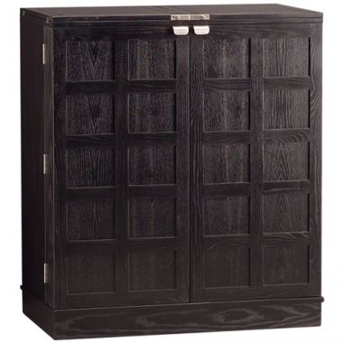 Crate and Barrel Steamer Bar Cabinet