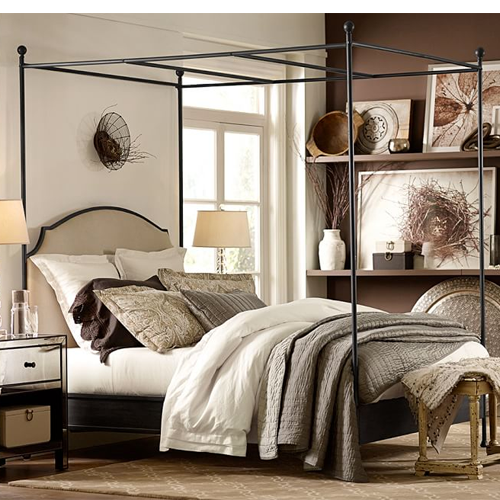 Pottery Barn Aberdeen Canopy Bed - Copy Cat Chic