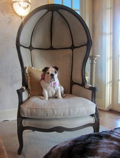 Restoration Hardware Versailles Burlap Backed Chair Copy