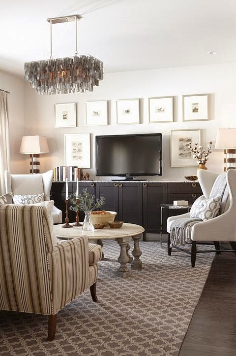 Copy Cat Chic Room Redo Warm And Cozy Family Room