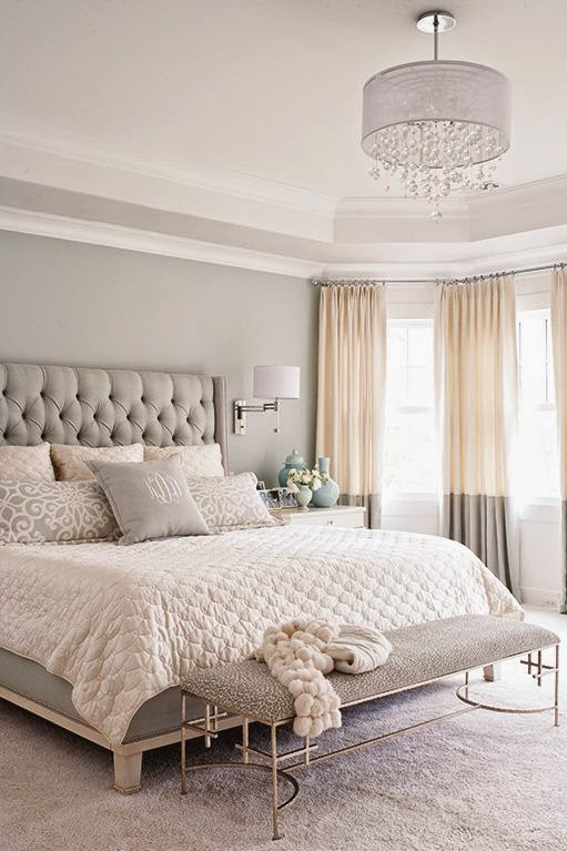 Copy Cat Chic Room Redo Soft Gray Bedroom