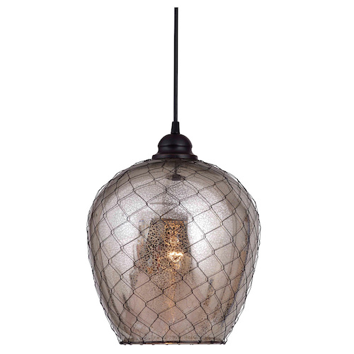 Overstock Nord 1-light Oil Rubbed Bronze Pendant