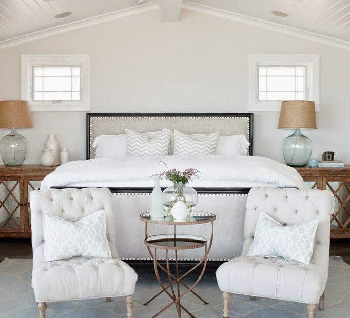 Copy Cat Chic Room Redo | Serene Beach House Bedroom