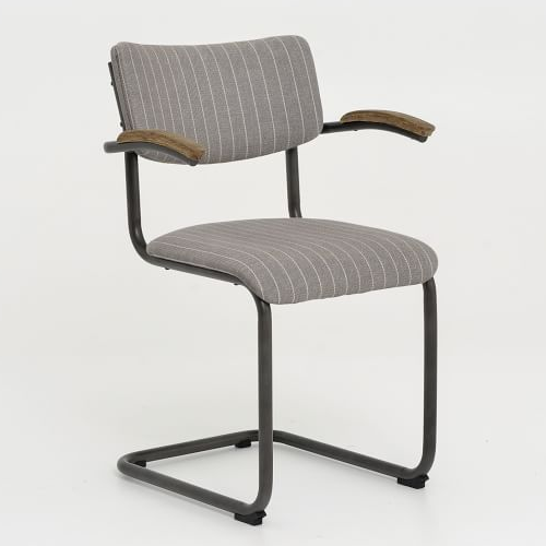 West Elm Timber Brace Cantilever Chair