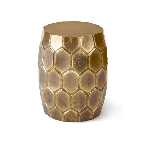 Horchow Melisande Honeycomb Garden Stool