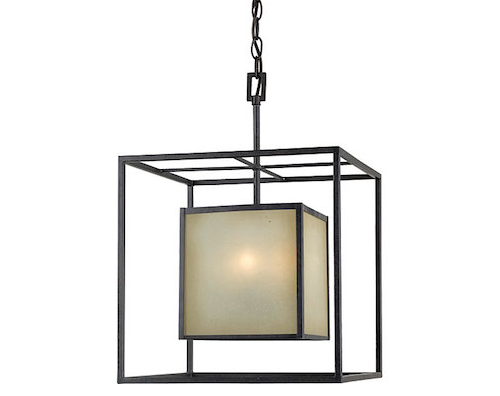 Home Depot World Imports Hilden Collection 4-light Hanging Pendant