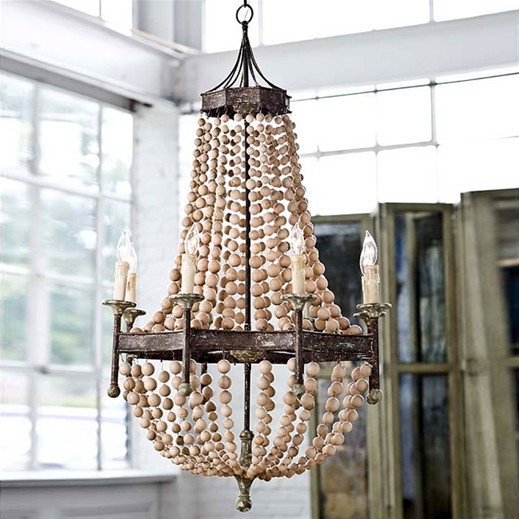 Restoration warehouse bead chandelier copycatchic restoration warehouse bead chandelier aloadofball Image collections