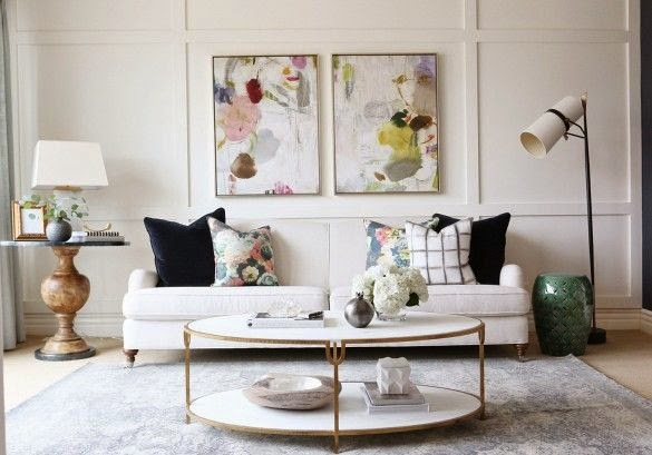 Copy Cat Chic Room Redo Eclectic Amp Feminine Living Space