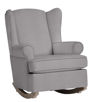 Pottery Barn Kids Wingback Convertible Rocker