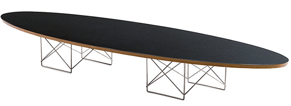 Incroyable Eames Elliptical Table