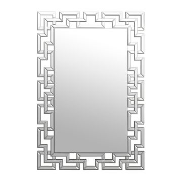 Mirror Masters Greek Key Motif Mirror Copy Cat Chic