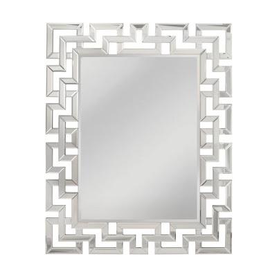 Mirror Masters Greek Key Motif Mirror